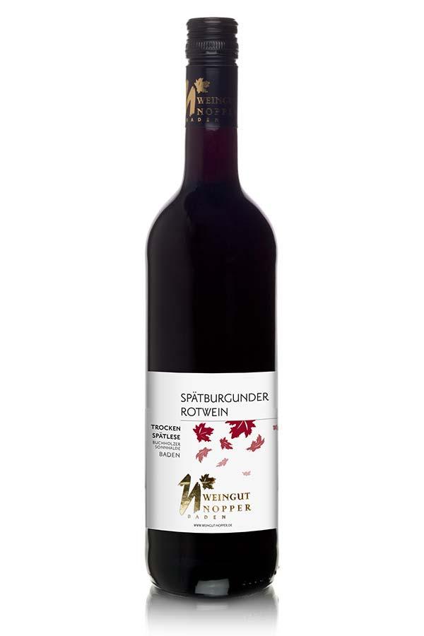 Spätburgunder Rotwein Spätlese trocken