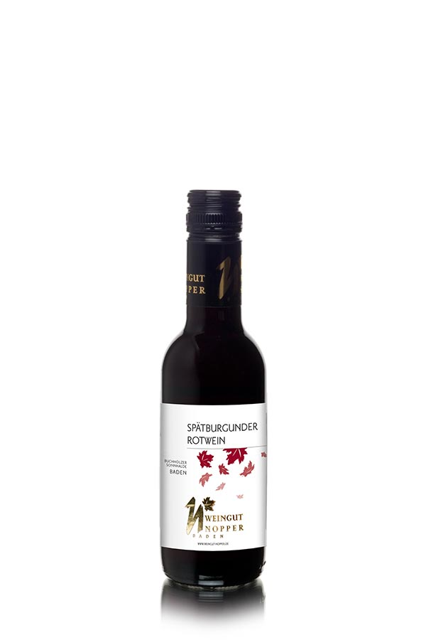 Spätburgunder Rotwein trocken - badisches Viertele